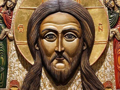 obraz jezusa miłosiernego zawieszony w kościele